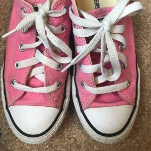Pink Converse Girls 13.5